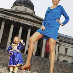 Keisčiausi Gineso pasaulio rekordai: Ilgiausios kojos