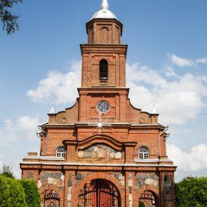 Taip atrodo Žemaitkiemio Šv. Kazimiero bažnyčia dabar